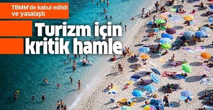 Son dakika: Türkiye Turizm Tanıtım ve Geliştirme Ajansı kuruluyor... TBMM'de kabul edildi!