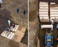 ABD'de toplu mezarlar kazılıyor !