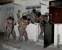 400 polisle dev uyuşturucu operasyonu