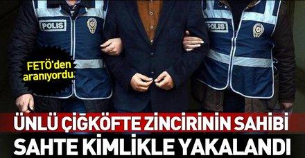 Son dakika: FETÖ'den aranıyordu! Komagene çiğ köftenin sahibi Murat Sivrikaya sahte kimlikle yakalandı
