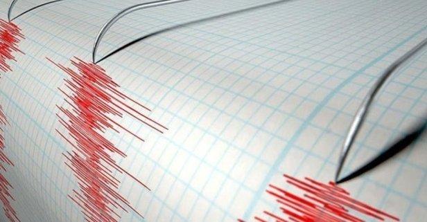 O ilimizde korkutan deprem!
