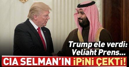 Son dakika: Trump: Prens Selman bilgi sahibi olabilir