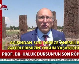 İşte Prof. Dr. Ahmet Haluk Dursun'un son röportajı