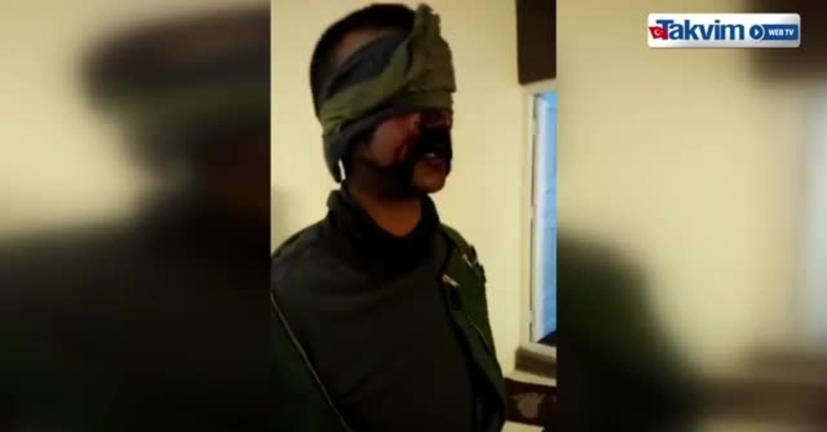 Pakistan Ordusu Tarafından Esir Alınan Hintli Pilotun Görüntüleri
