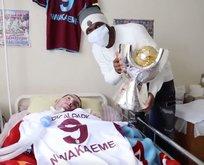 Trabzonspor'un yıldızından alkışlanacak davranış