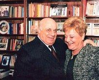 Rauf Denktaş'ın eşi Aydın Denktaş hayatını kaybetti
