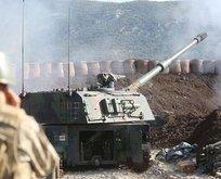 Afrin'de üs bölgesine saldırı: 2 asker yaralandı
