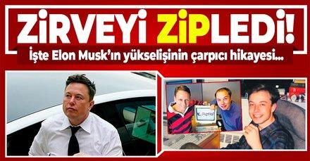 Zirveye ZİP'ledi! Elon Musk, Zip2'yi sattıktan sonra yükselişe geçti
