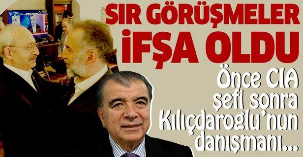 Önce CIA şefini, sonra Kılıçdaroğlu'nun danışmanını aramış