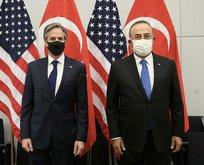 Bakan Çavuşoğlu'ndan NATO toplantısında önemli açıklamalar