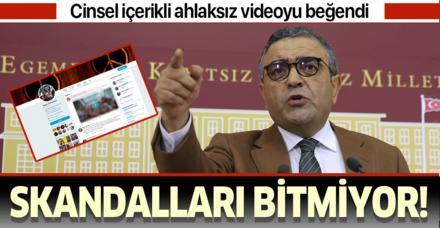 CHP'li Sezgin Tanrıkulu'nun skandalları bitmiyor! Twitter'da porno videosunu beğendi
