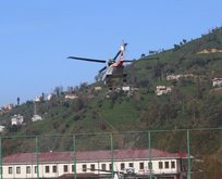 Cumhurbaşkanı Erdoğan, Ayderi havadan inceledi