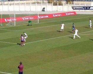 Trabzonspor, Bugsaşsporu rahat geçti