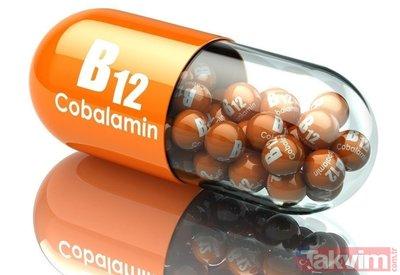 B12 vitamini hangi besinlerde bulunur? B12 ne işe yarar? Eksikliği için mutlaka bunu tüketin...