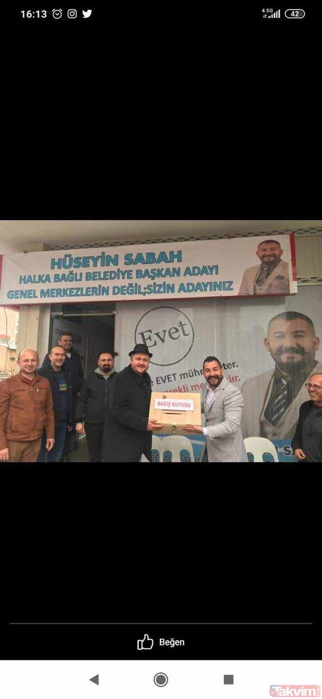 Kurgu görüntülerin çekimini yapan Mahmut Dölek'in, 31 Mart yerel seçimlerinde Demokrat Parti'yle çalıştığı ortaya çıktı!