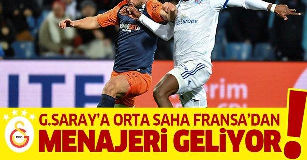 Galatasaray orta sahayı Fransa'da buldu