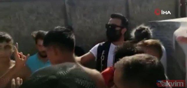 İstanbul'da İspanya uyruklu kadından şanlı Türk bayrağına alçak saldırı! Öfkeli kalabalığın elinden polis aldı...