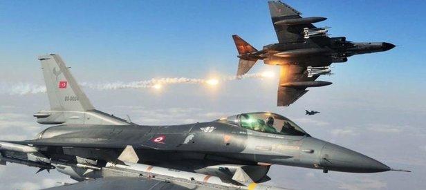 TSK Kuzey Irak'ta hainlere bomba yağdırdı