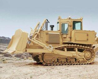 Hendek ve barikat canavarı! TSK'ya 50 ton ağırlığında zırhlı dozer