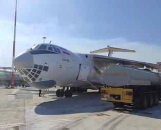 Rusya'dan gelen dev uçakla ilgili MSB'den açıklama