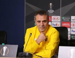 Ersun Yanal'dan flaş Slimani sözleri | Ersun Yanal,  Zenit - Fenerbahçe maçı öncesi açıklamalarda bulundu