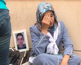HDP'lilerden 'evlat nöbeti'ndeki anneye skandal sözler!