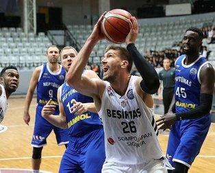 Beşiktaş, Neptunas'ı 7 sayı farkla devirdi