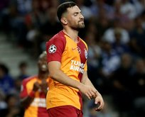 Galatasaray'da Sinan Gümüş depremi