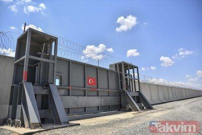 Sınırdaki kaleler Mehmetçik için hazır
