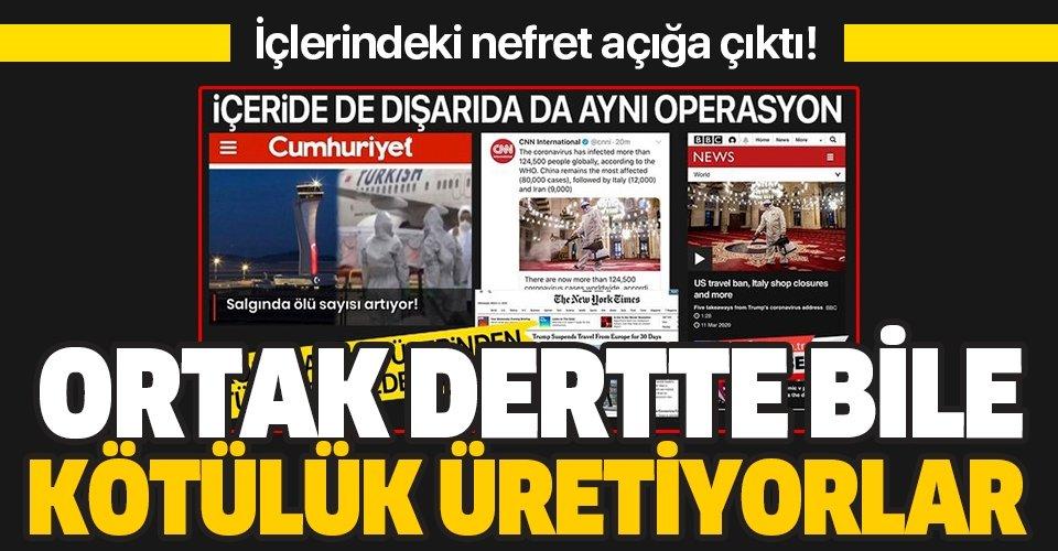 Mahmut Övür'den koronavirüs üzerinden Türkiye'yi hedef alan New York Times, CNN International, BBC ve Cumhuriyet'te sert tepki!