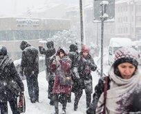 Meteoroloji'den son dakika kar ve fırtına uyarısı