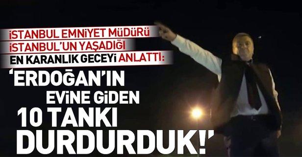 Mustafa Çalışkan 15 Temmuzu anlattı