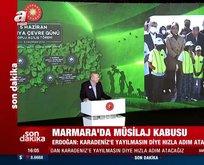 Başkan Erdoğan'dan salonu güldüren espri