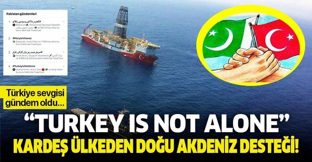 Kardeş ülkeden Doğu Akdeniz desteği: Türkiye yalnız değil