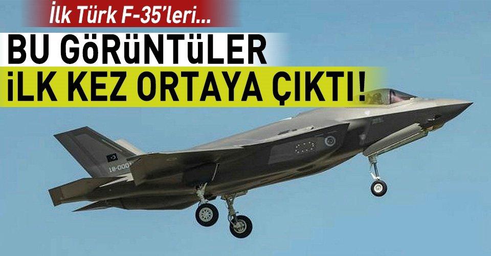 İlk Türk F-35inin farklı görüntüleri ortaya çıktı