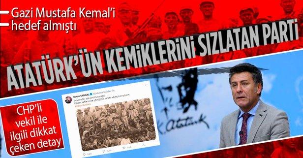 Atatürk'ü hedef alan vekil ile ilgili çarpıcı detay