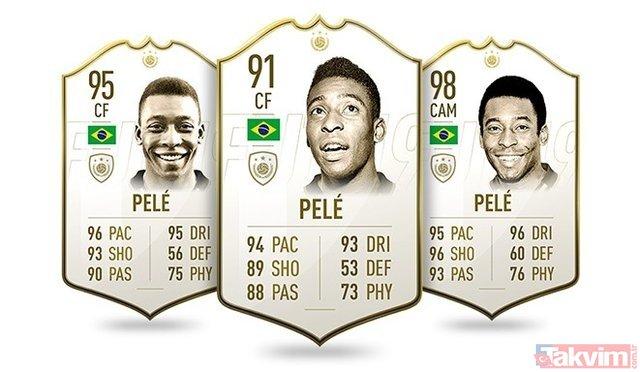 FIFA 19 efsane isimlerin puanlarını açıkladı