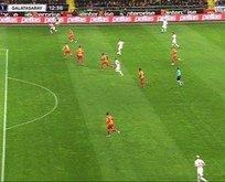 Kayserispor - Galatasaray maçında tartışmalı pozisyon!