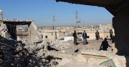 İdlib'de oluşturulması beklenen güvenli bölgeler görüntülendi