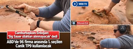 İşte Türk polisinin kullanacağı Canik!