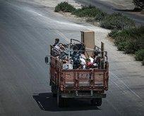 124 bin sivil Türkiye sınırına kaçtı