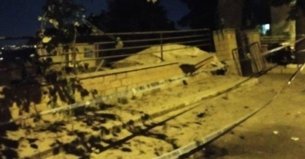 Sarıyer Bahçeköy'de 11 katlı bina çöktü