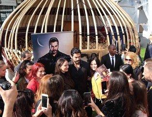 Kuruluş Osman ve Hercai'ye büyük ilgi! Cannes'a damga vurdular...