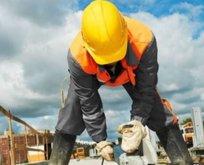 Kadroya geçen taşeron işçilere bayram yardımı