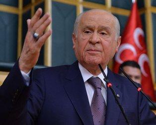 MHP lideri Bahçeli'den 'Pençe-3' açıklaması
