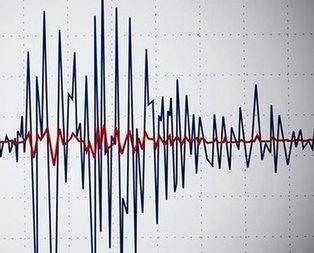 Niğde Bor'da deprem!
