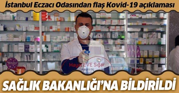 İstanbul Eczacı Odasından Kovid-19 kararı