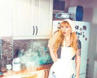 Gökçe mutfağı yaktı