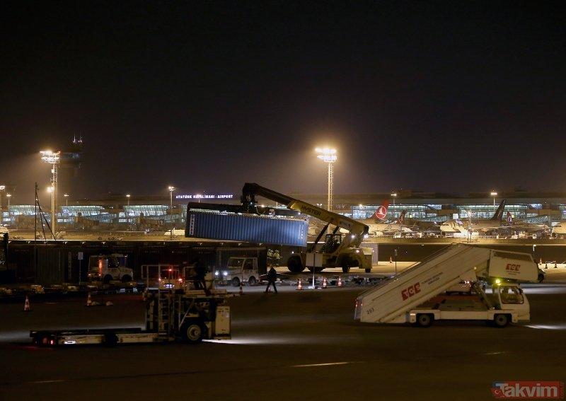 İstanbul Havalimanı'na 'büyük taşınma' başladı