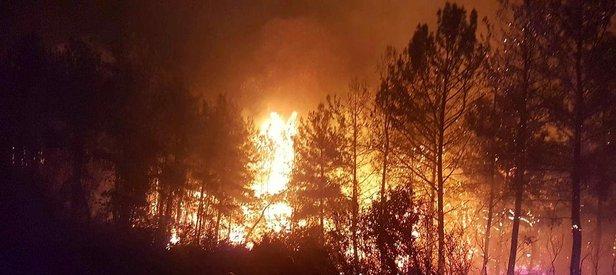 Son dakika: Manavga'ta çıkan orman yangını kısmen kontrol altına alındı